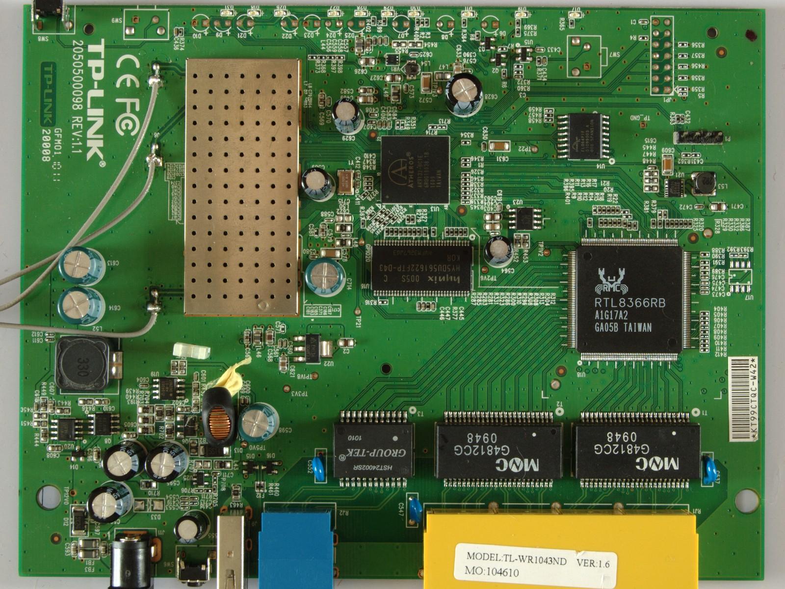 TL-WR1043ND V1.6